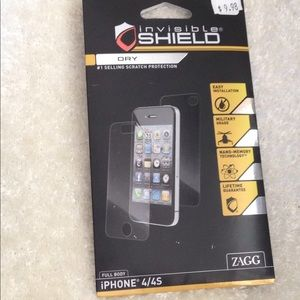 Other - Invisible Shield-iPhone 4/4S